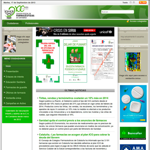 Colegio Oficial de Farmacéuticos de Cantabria