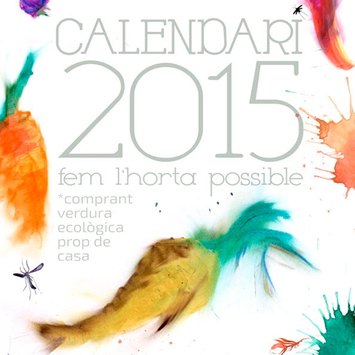 "Calendari ""fem l'horta possible"" 2015 - FabrikaGrafika Graphic Design and Layout"
