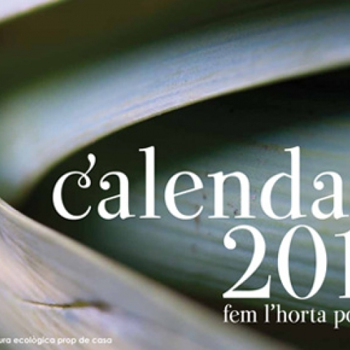 """Fem l'horta possible"" calendar"