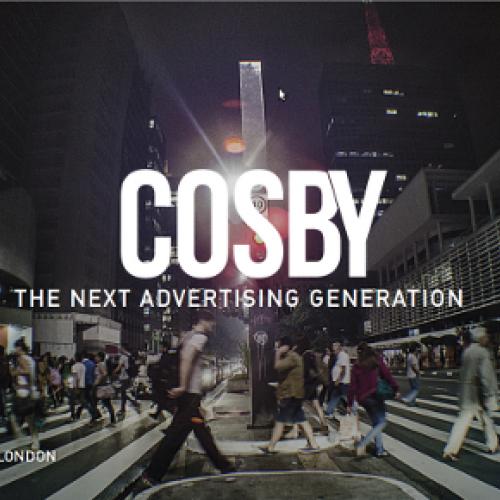 Agencia de Publicidad Cosby. Diseño Web Fabrika Grafika