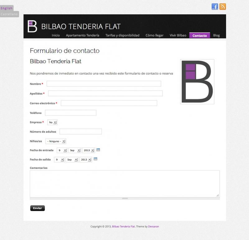 Contacte amb Bilbao Tendería Flat