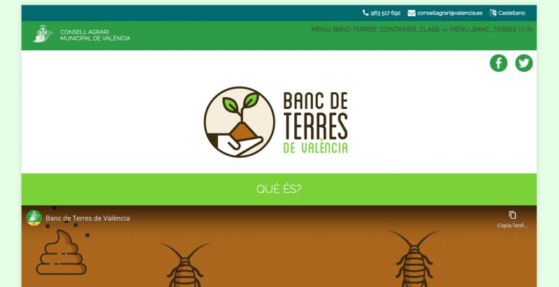 Landing Banco de Tierras