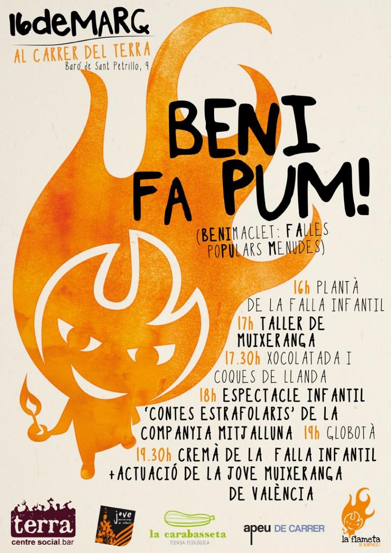 Beni Fa Pum! - Cartell - FabrikaGrafika Disseny Gràfic