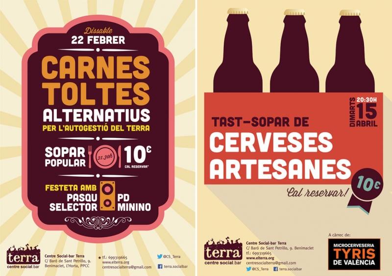 Posters para el Terra -  FabrikaGrafika Diseño Gráfico