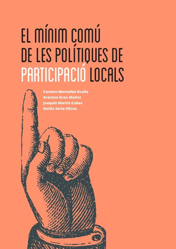 El mínimo común de les polítiques de participació locals - PORTADA