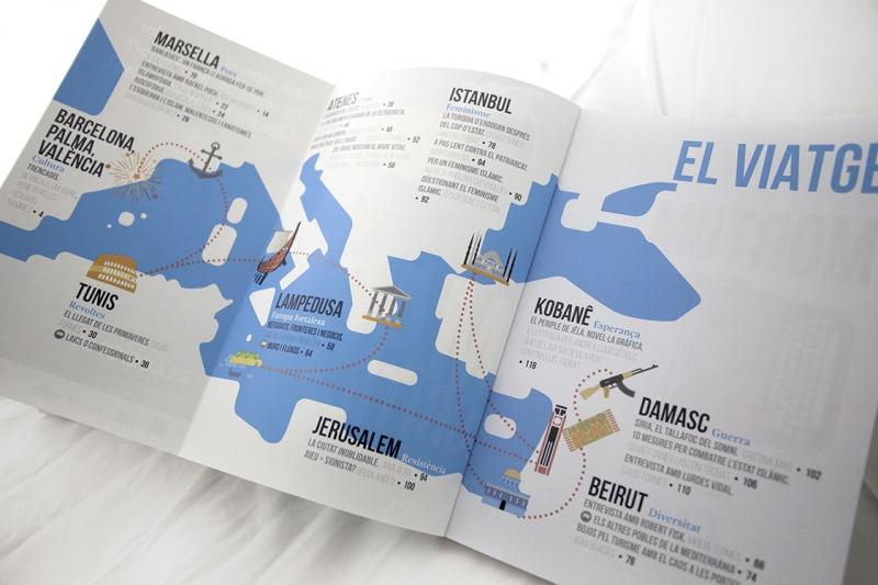 Mar Crítica - índex -  FabrikaGrafika Diseño Editorial
