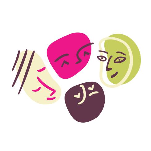 Símbolo del logo 'Faire Commun·e!'