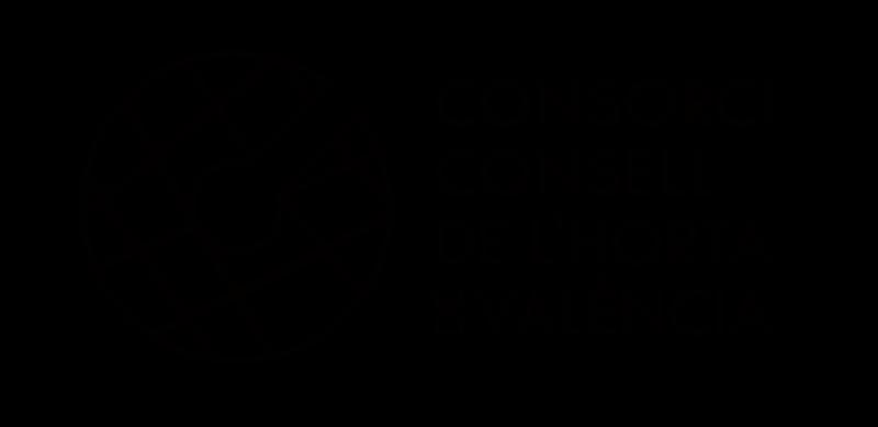 Logo Consorci Consell de l'Horta de València una tinta