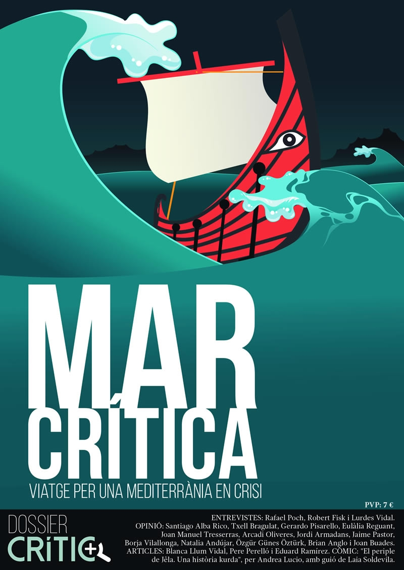 Mar Crítica - Portada -  FabrikaGrafika Disseny Editorial