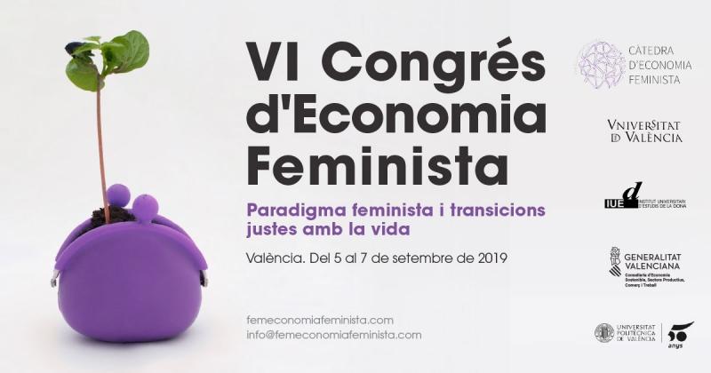 Congrés d'Economica Feminista - Post Facebook