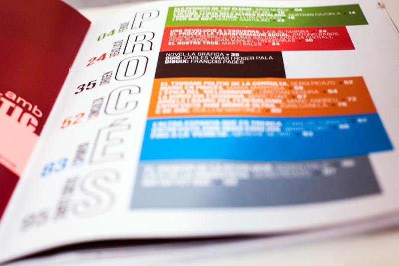 Procés -  Páginas interiores -  FabrikaGrafika Diseño Editorial