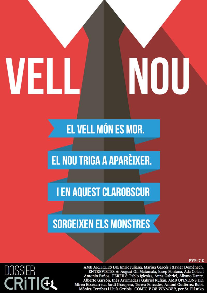 Vell-Nou -  Portada -  FabrikaGrafika Diseño Editorial