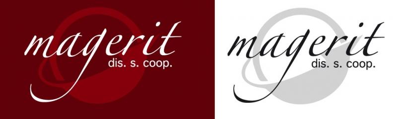 Versiones del logotipo de la cooperativa (para la web y en blanco y negro)