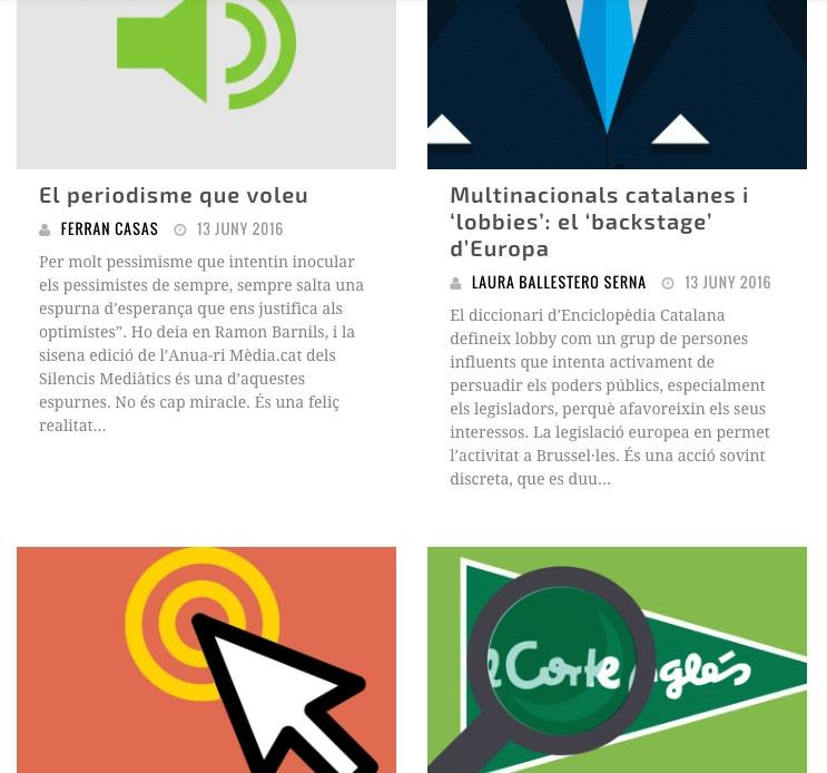 Anuari Mèdia.cat - microsite - FabrikaGrafika Diseño Web